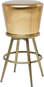 Bar Stool Lady Rock Gold Design Pimp Your Home With This Gleaming Golden Barstool Which