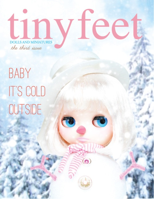 This is the cutest doll magazine ever!  It's not just for ABJD, it features a lot of Blythe, Pullip, Licca and Momoko dolls as well as ABJD like Lati Yellow and Fairyland LittleFee!