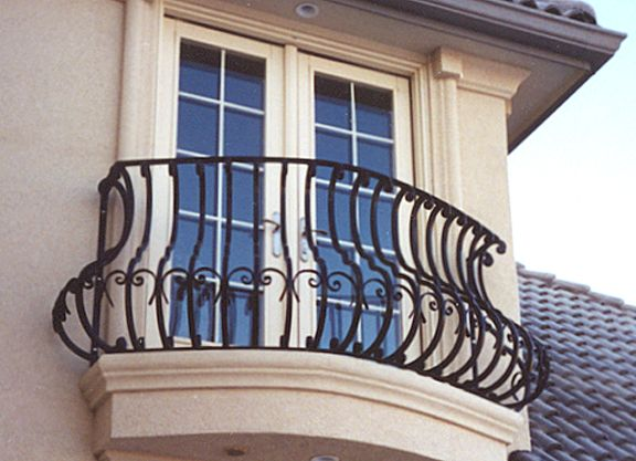 1000 images about luxury juliette iron balcony on for French balcony railing