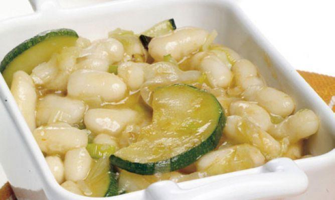 Receta de Alubias con verduras