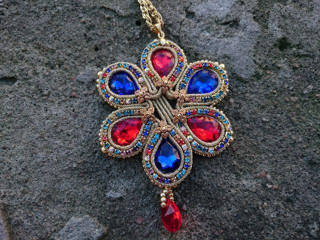ETNICZNE TABU - BIŻUTERIA : Tanja - wisior/pendant