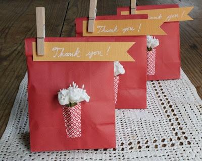 Lembrancinha em saco de papel#Repin By:Pinterest++ for iPad#