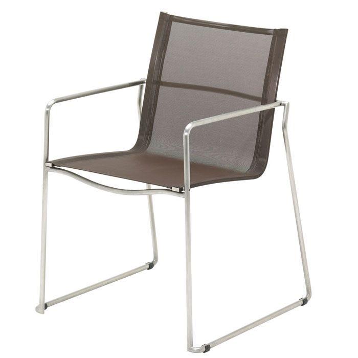 Gloster Asta Brown - stapelstoel