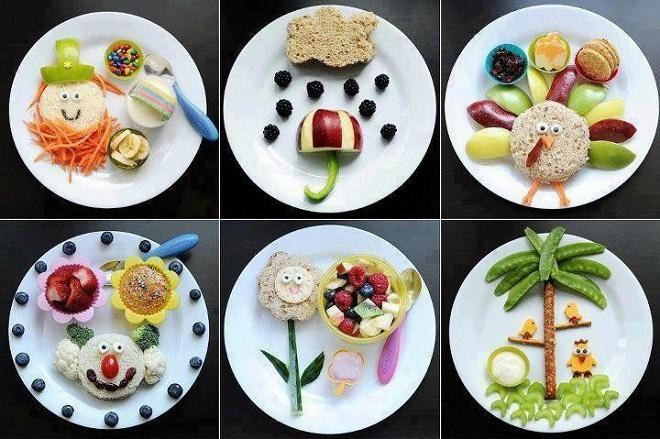 Kids' fun plates