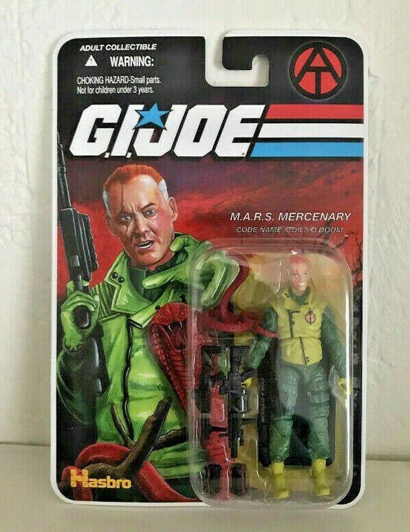 GIJOE Coils O/'Doom Carded MOC FSS Final 12 Figure