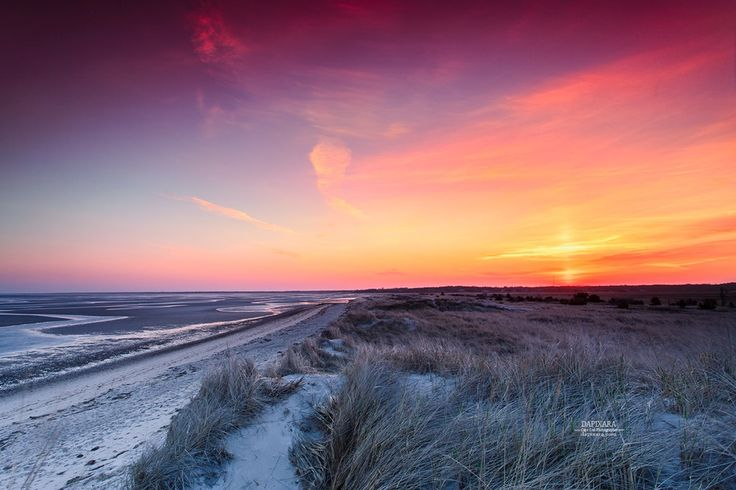 Cape Cod Sunrises: Beaming sunrise Today at Crosby Landing beach in Brewster, Cape Cod. Cape Cod images by local photographer Dapixara https://dapixara.com