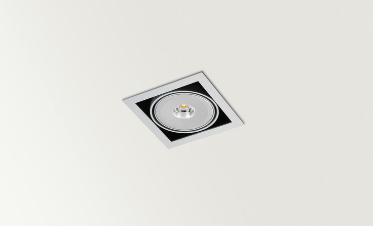 ORBITAL QR, LED or CDMR - Halogen, LED or metal halide luminaire. Ceiling downlight (Ceiling Recessed) — in Arkoslight.