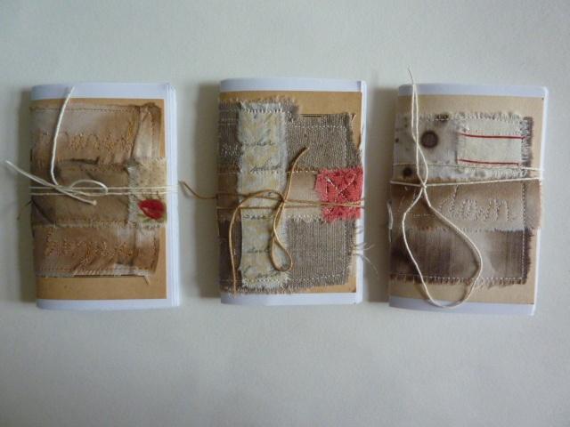 Handmade notebooks by gerfotos, via Flickr