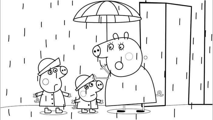 Printable Peppa Pig Coloring Pages Peppa Pig Coloring Pages