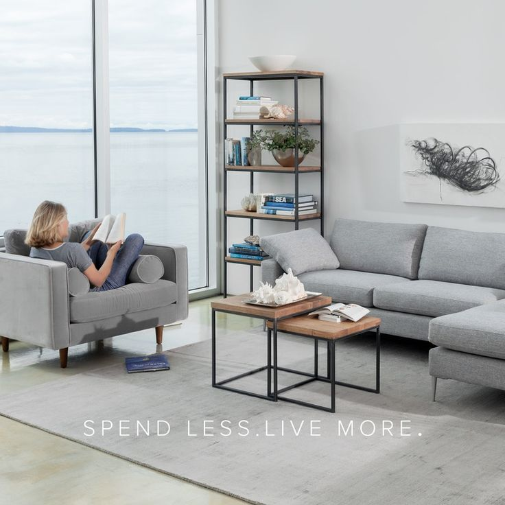 I like this set up for upstairs.... Article | Modern, Mid-Century and Scandinavian Furniture