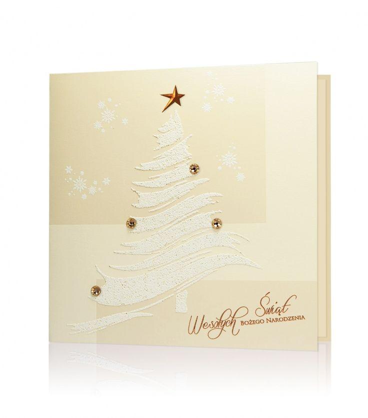 Ciekawie ozdobione kartki świąteczne.
