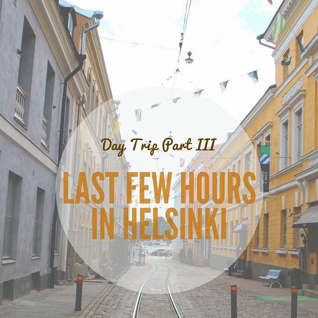 #Helsinki day trip part III