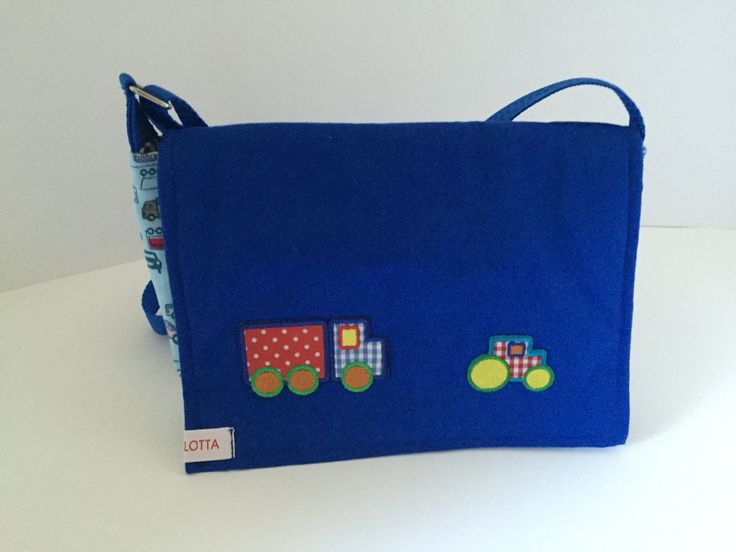 SALE 15% Kindergartentasche Umhängetasche Kinder Jungen blau von madameLotta auf Etsy