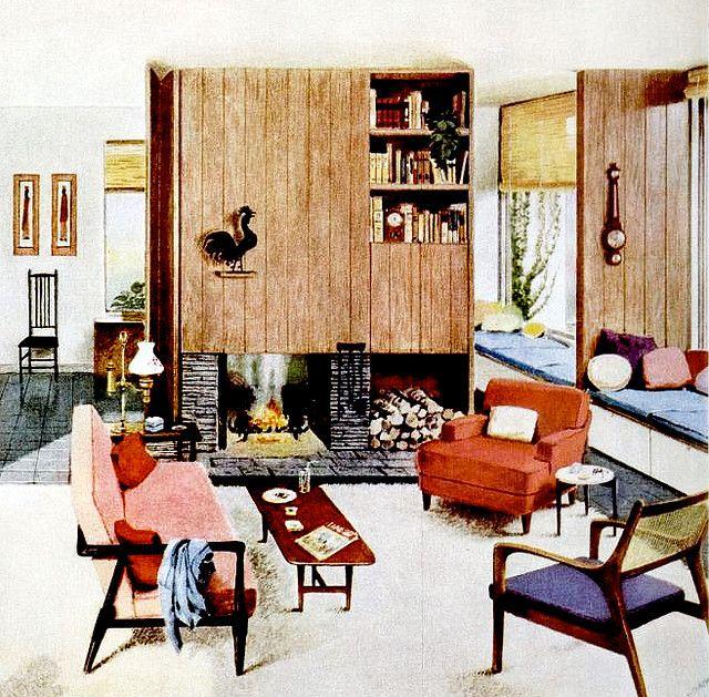 1950 Home Decor 177 best 1950s home decor images on pinterest   vintage interiors