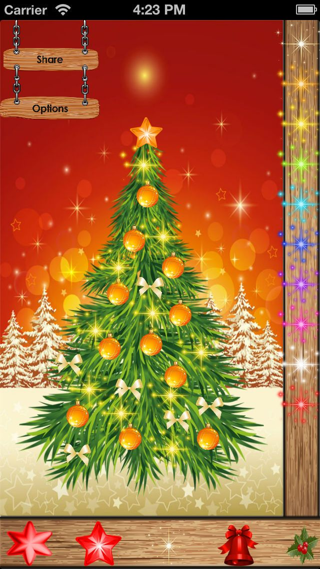 My Christmas Tree For Iphone Games Offshore Entertainment Ios Christmas Tree Tree Apples To Apples Game