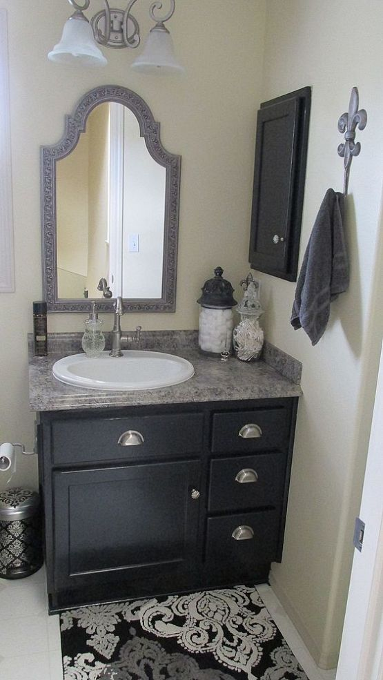1000 ideas about small bathroom vanities on pinterest for Best small bathroom remodels