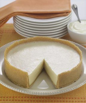 Allergy Friendly Cheese Cake (scroll down to see allergy friendly version on site) - egg free, dairy free, nut free
