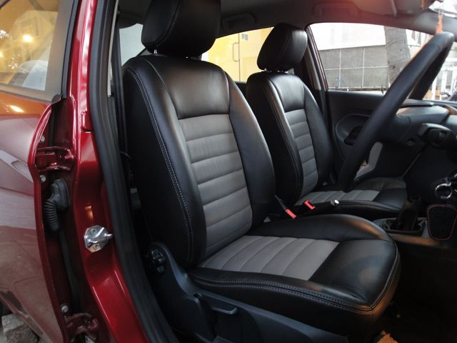 karlsson leather in bangalore provides customised leather ford fiesta car seat covers