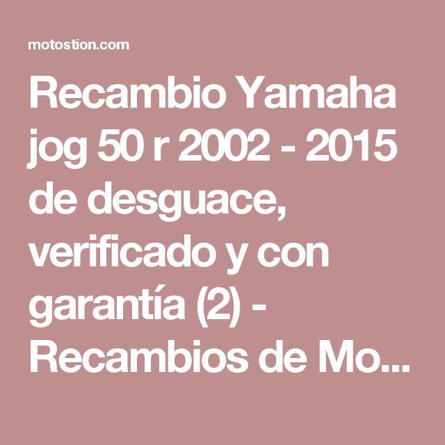 Recambio Yamaha jog 50 r 2002 - 2015 de desguace, verificado y con garantía (2) - Recambios de Motos motOstion