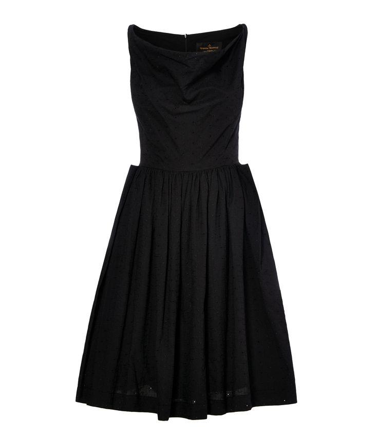 Black Twisted Monroe Dress #SS16