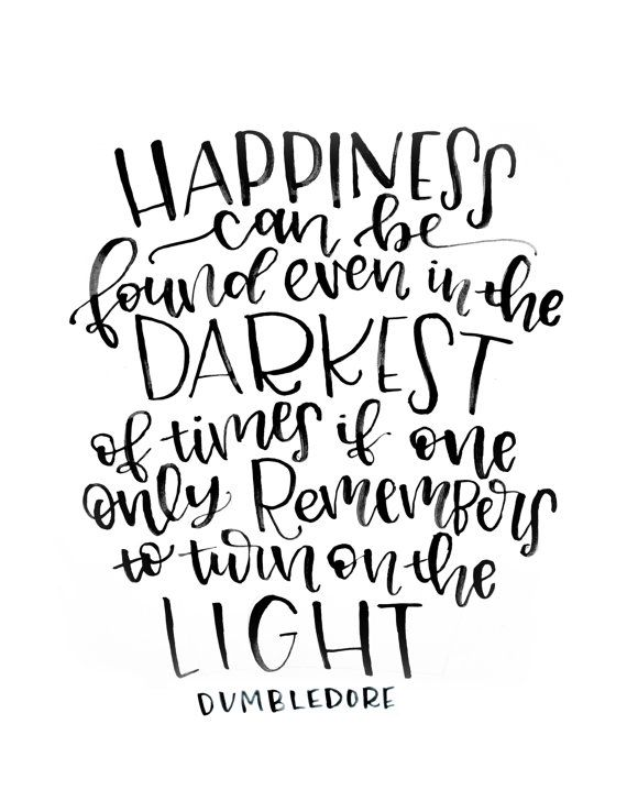 Instant Download – Printable – Dumbledore Quote Printable – Harry Potter and the Prisoner of Azkaban