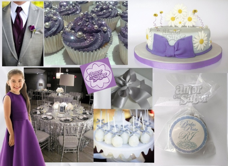 Decoracion Bodas De Plata ~   unas bodas de plata  Bodas y decoraciones  Pinterest  Bodas