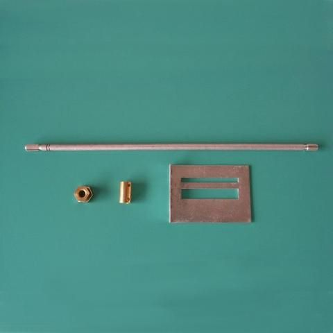 Potentiometer or Signal Selection Switch Extension Rod for Preamp Amp DAC Length 260MM DIY 1 Set