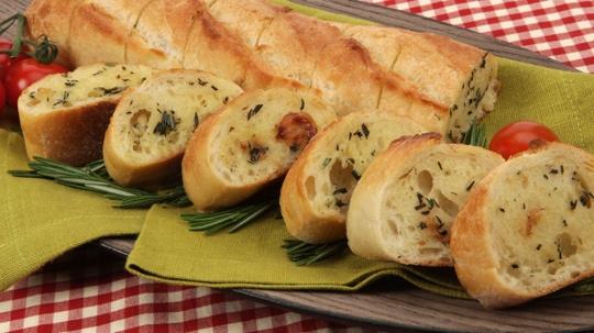 Roast Garlic Stuffing-Style Baguette.  looks yummy