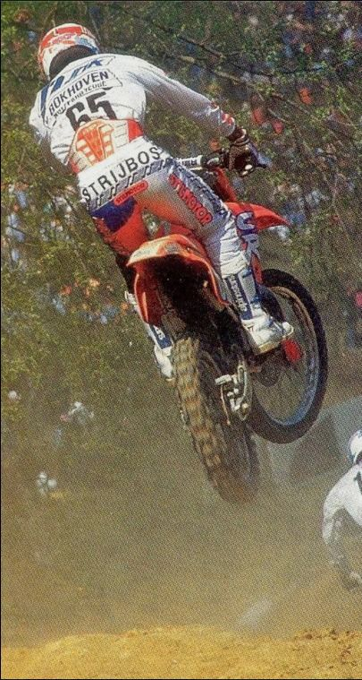 How most riders saw Strijbos during his career