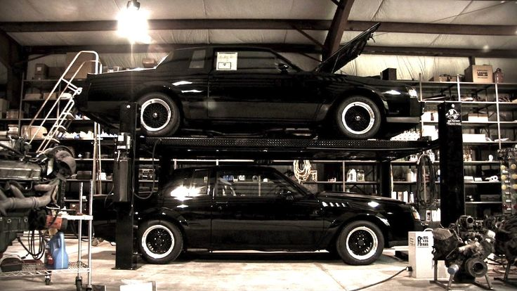 Buick Grand National (top) & Buick Grand National GNX (bottom) - Black Air 80's - LGMSports.com