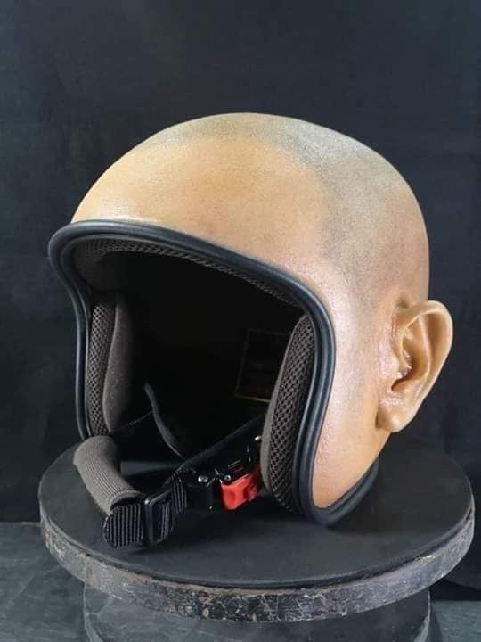 Pin By Some Guy On Disturbing But Impressive In 2020 New Helmet Vintage Helmet Helmet Design