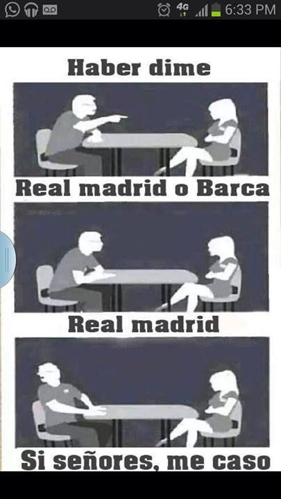 Real Madrid Girl // Jaja, de verdad voy a preguntar los hombres eso//