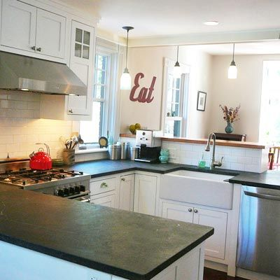 U Shaped Kitchen Remodel Before And After Best 309 Best Kitchen 3 Images On Pinterest  Kitchen Kitchen Ideas Inspiration