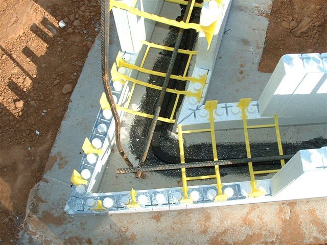 Insulated Concrete Forms Icf Construction Detail Photos