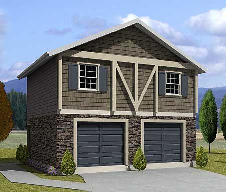 138 best images about apartment garages on pinterest for Garage with apartment on top