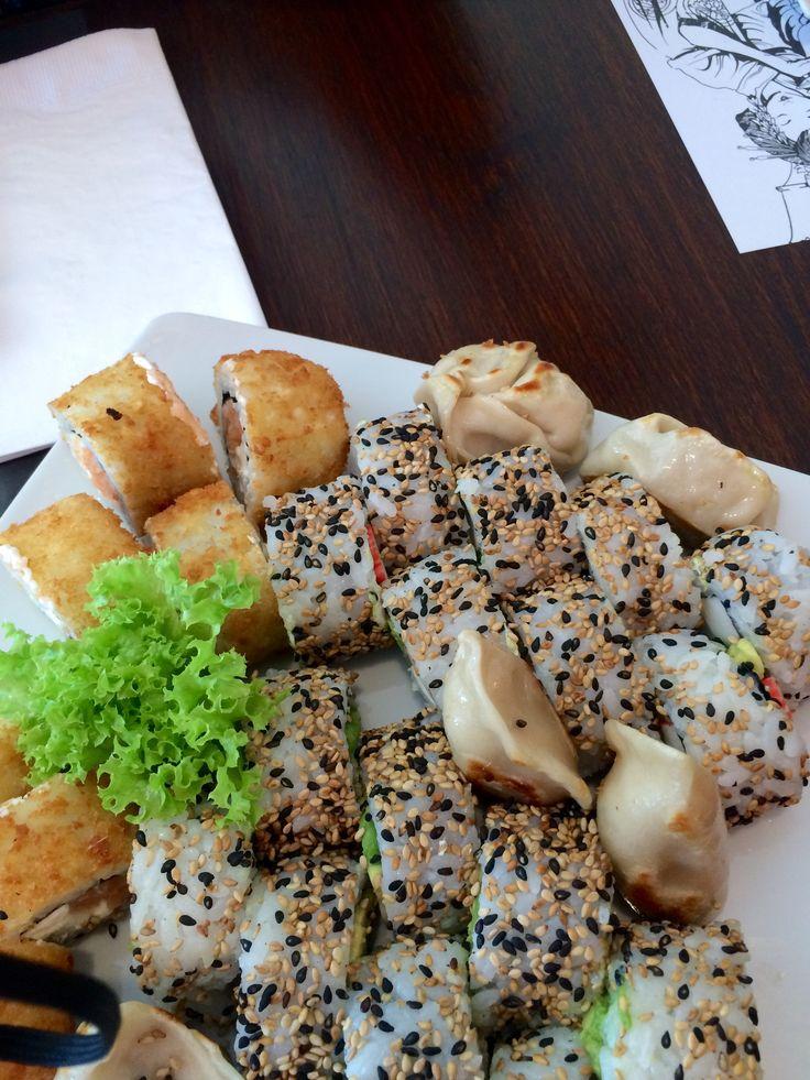 Sushi in Sushi Sun !!  Amazing