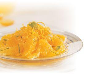 Suprêmes d'orange parfumés