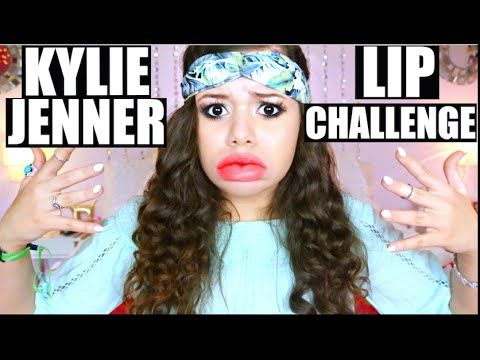 KYLIE JENNER LIP CHALLENGE GONE WRONG!? | Krazyrayray