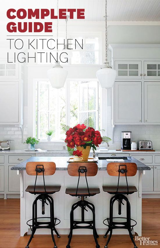 Check out our best kitchen lighting ideas to illuminate your space: http://www.bhg.com/kitchen/lighting/?socsrc=bhgpin032514kitchenlighting