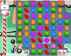 Candy Crush Level 267 Cheats and Tips - Page 5 of 5 - Candy Crush Saga Cheats | Level 267 is a Timed level, one of five level types in Candy Crush Saga. Your objective is to score 100,000 points in a timed level. In order to complete a Timed level, you have to reach a certain score in a certain amount of time. Its more difficult than it seems, since you don't really have time to think about the moves you're making.