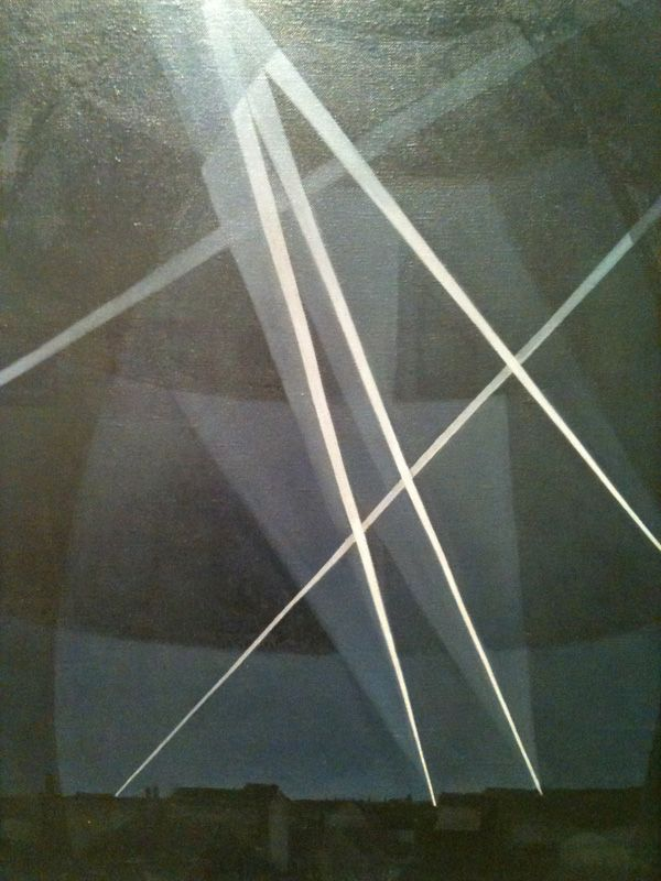 Painting by C.R.W. Nevinson
