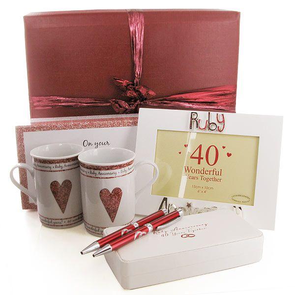 Ruby Wedding Gifts For Her: 24 Best Rubinhochzeit Geschenk Images On Pinterest