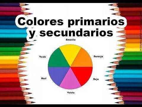 """Teoría del color Cap. 2 """"Colores primarios y secundarios"""" - YouTube"""