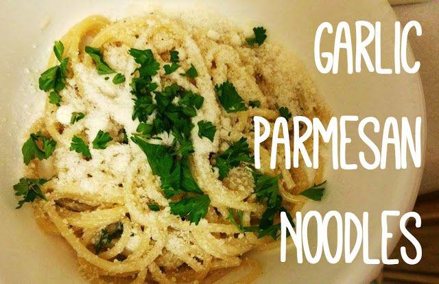 Reviews, Chews & How-Tos: One Pot Easy Garlic Parmesan Noodles