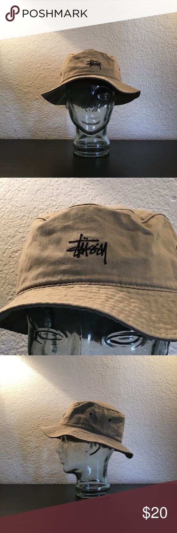Vintage Stussy Bucket Hat. Unisex. L/XL. Vintage Stussy Bucket Hat. Unisex. L/XL.  Fantastic condition.  This was my first ever Stussy purchase when I was a kid, so it's definitely a relic. 🔥 Stussy Accessories Hats