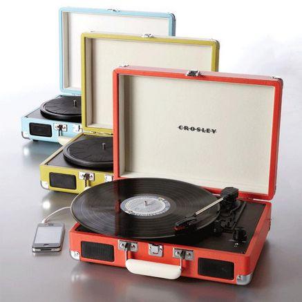 Crosley® 'Cruiser' Portable Turntable