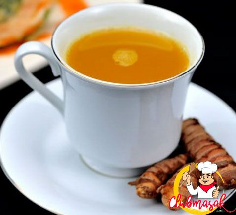 Resep Teh Herbal Wedang Kunyit Asam, Teh Herbal Untuk, Diet, Club Masak