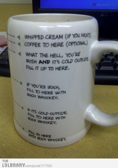 'Awesome' coffee mug