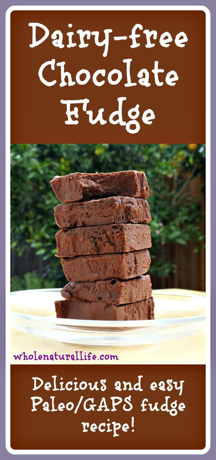 This dairy-free fudge is honey-sweetened, super simple to make, and suitable for the GAPS and Paleo diets. Try some today!