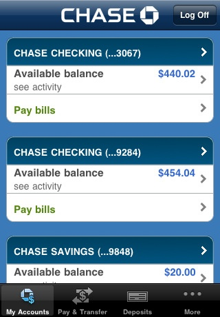 Coupons chase checking account